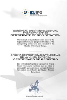 欧盟专利证书